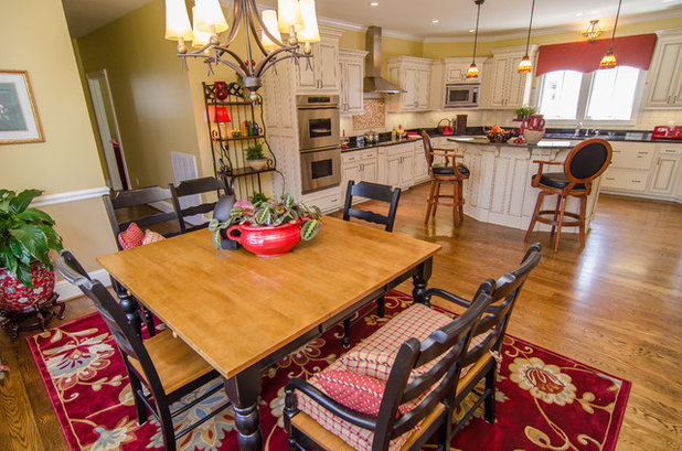Traditional Kitchen by Christina Cavin