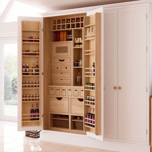 best 30 kitchen pantry ideas designs houzz - Kitchen Pantries Ideas