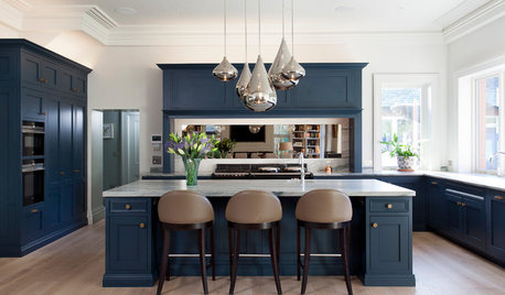 A Sophisticated Kitchen for an Open-Plan Addition