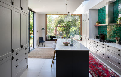 Houzz Tour: A Period Home With an Inside-outside Extension