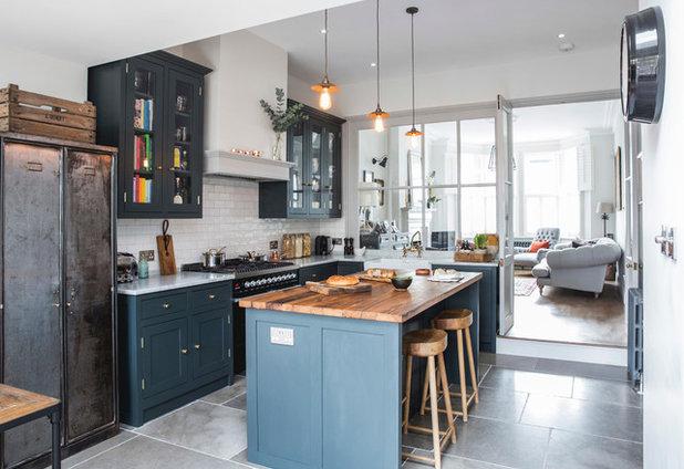 Transitional Kitchen by Alberts House Ltd