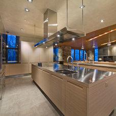 Contemporary Kitchen by Robyn Scott Interiors, Ltd.