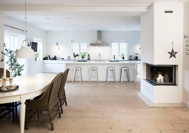 Transitional Kitchen by Eggersmann Kitchens   Home Living