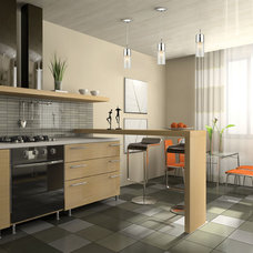 Contemporary Kitchen by Littman Bros Lighting