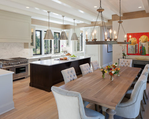 Kitchen table lighting houzz Kitchen table pendant lighting