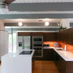 modern kitchen Eichler Kitchen Remodel in Orange County (Fairhaven Neighborhood_