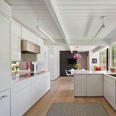 Midcentury Kitchen by Alison Damonte Design