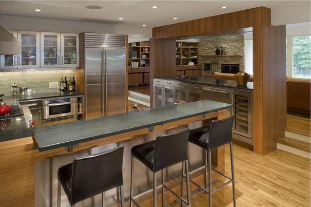 Contemporary Kitchen by Eisner Design LLC