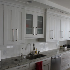 Transitional Kitchen by Elegant Kitchens and Baths, Inc.
