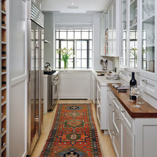 transitional kitchen by Best & Company