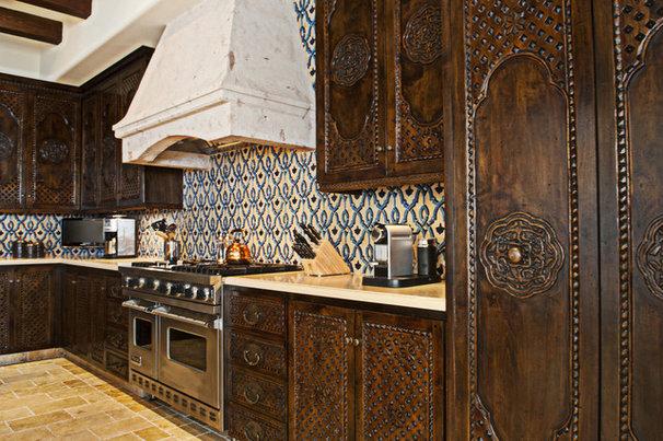 Mediterranean Kitchen by Zellij Gallery