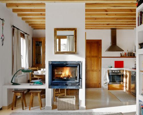 Ideas para cocinas fotos de cocinas r sticas for Cocinas con chimenea