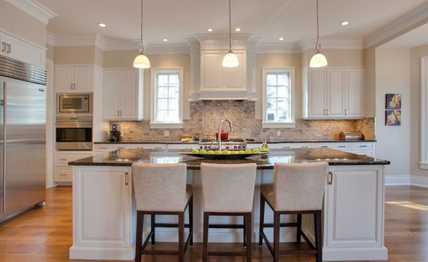 Traditional Kitchen by Caniela Design