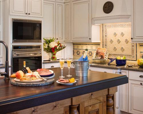 Rustic Tile Backsplash Home Design Ideas, Pictures ...