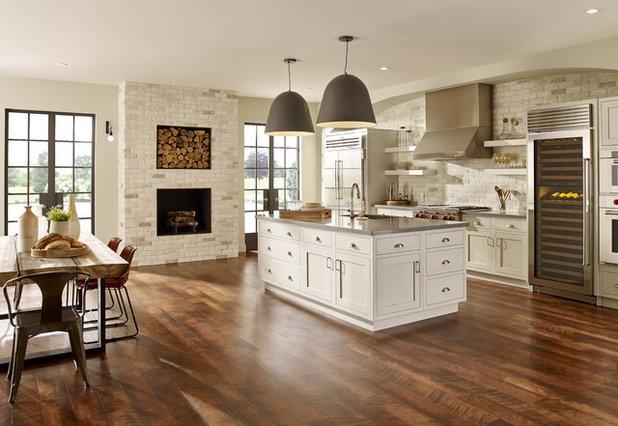 Rustic Kitchen by Eldorado Stone
