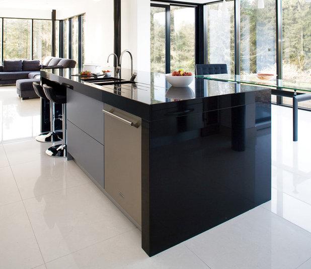 Travail Kitchen: Tout Savoir Sur Le Plan De Travail En Corian Et Solid Surface