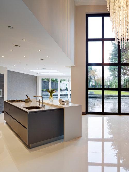 Contemporary kitchen window houzz - Modern kitchen windows ...