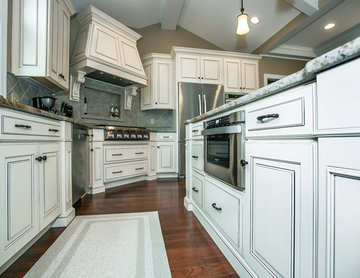 Elegant Antique White Kitchen