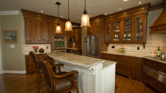 Elegant Cherry Kitchen