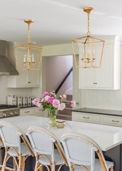 Transitional Kitchen by PS & Daughters