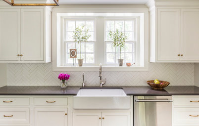 Kitchen of the Week: Updated Colonial Style in Creamy White