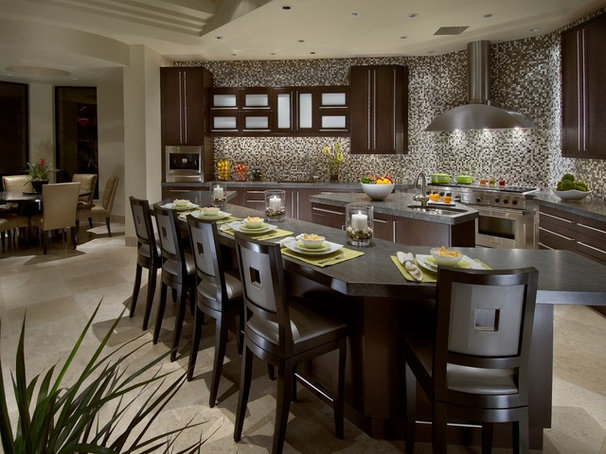 Contemporary Kitchen by Janet Brooks Design