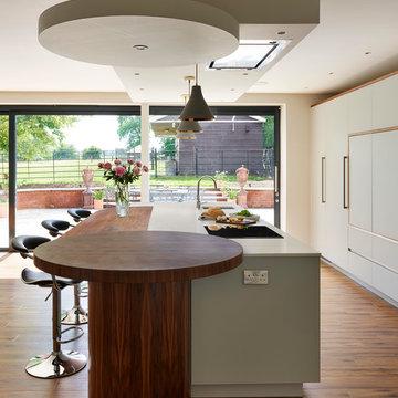 Elegant Glass Kitchen