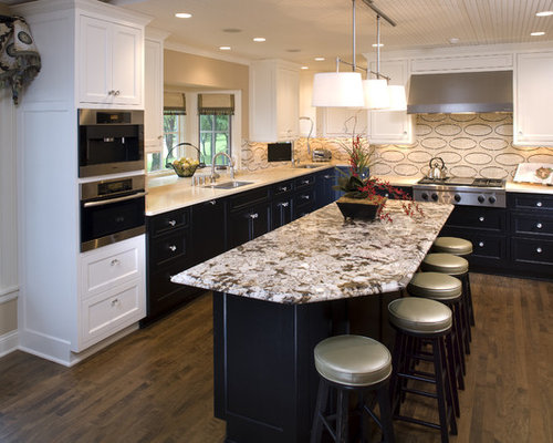 Black Lower And White Upper Cabinets Ideas Pictures Remodel And