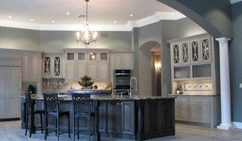 Elegant Gray Transitional Kitchen