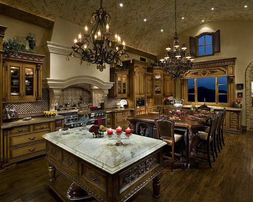 elegant kitchen ideas, pictures, remodel and decor,