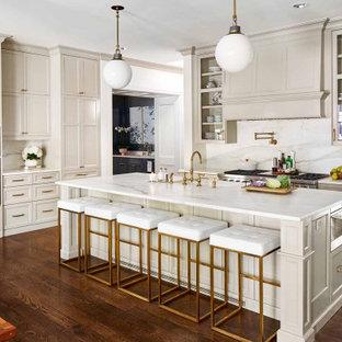 Elegant Kitchen Remodel in a Soft Warm Gray