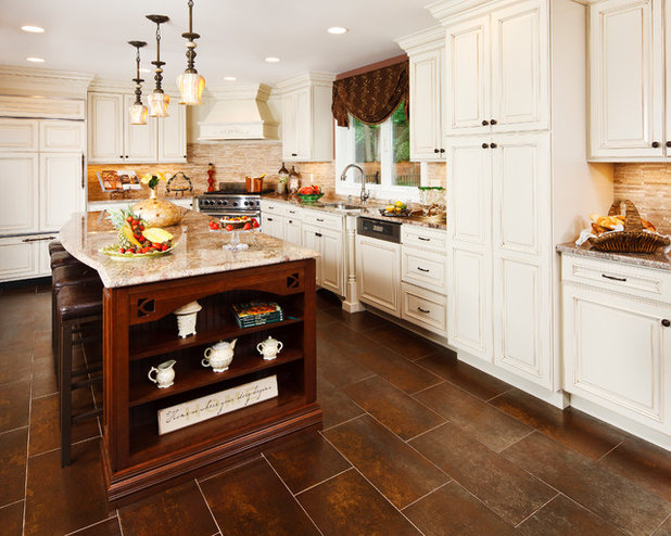 American Traditional Kitchen by Creative Design Construction, Inc.