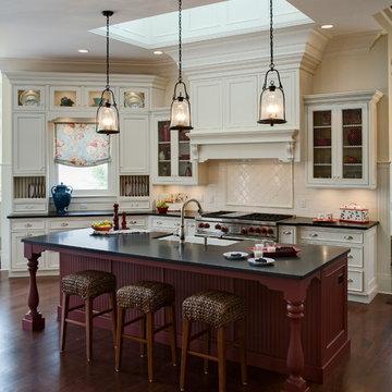Elegant Lakeside Kitchen