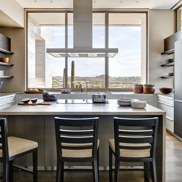 Elegant Modern at Estancia | Kitchen + View
