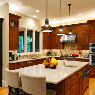 Traditional kitchen remodeling - Inspiration for a timeless kitchen remodel in DC Metro