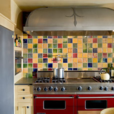 Rustic Kitchen by Sargent Design Company