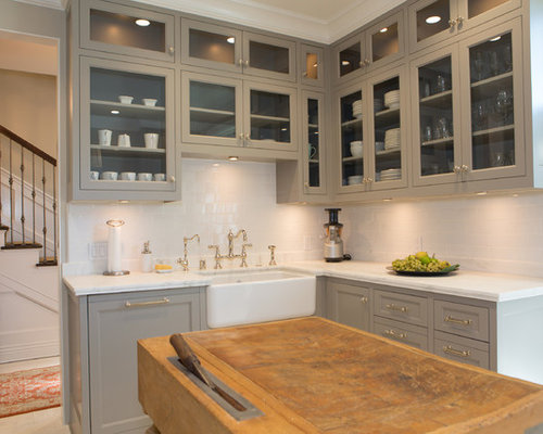 Taupe Kitchen Cabinets Ideas, Pictures, Remodel and Decor