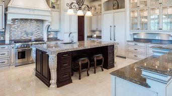 Elegant Transitional Custom Kitchen