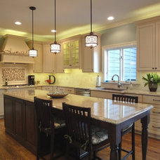Traditional Kitchen by Denise Merbeth LLC