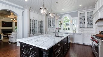 Elegant Victorian Kitchen & Bath