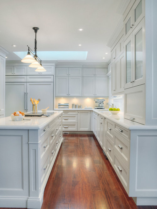 Simple White Kitchen End Panels You Can See Intended Design Ideas