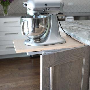 Elegant White Kitchen for Family Gatherings and Baking