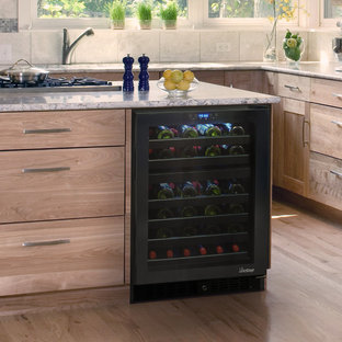 Element by Vinotemp Built-in 46 Bottle Dual-Zone Touch Screen Wine Cooler