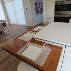 Contemporary Kitchen by CULHAM CUSTOM WOODWORK LTD