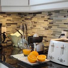 Contemporary Kitchen eliza decor