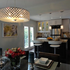 Contemporary Kitchen eliza decor