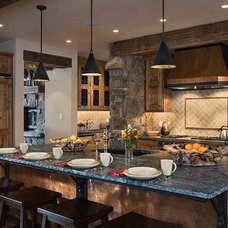 Traditional Kitchen by Montana Reclaimed Lumber Co.