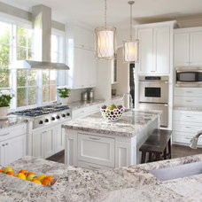 transitional kitchen by Ellen Grasso & Sons, LLC