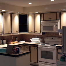 Traditional Kitchen by E.J.Fikar Contracting LLC