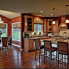 Traditional Kitchen by Ellicott Interiors, LLC